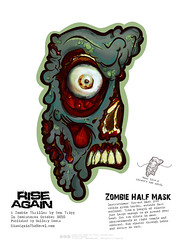 """Rise Again"" Zombie ""half-mask&..."