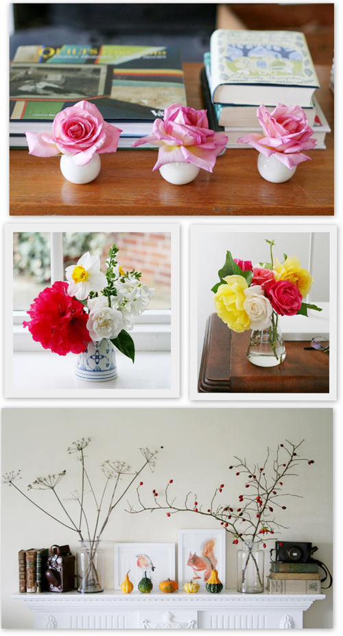 Simple Flower Arrangements
