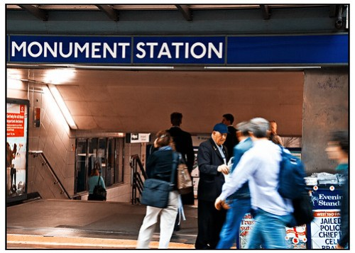 Evening Newspapers at Monument Station