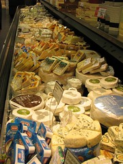 Some of the Cheese Selection