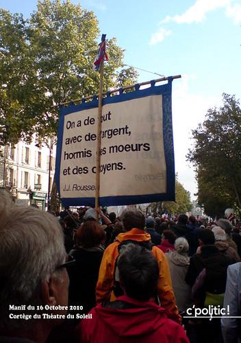 manifestation du 16 octobre