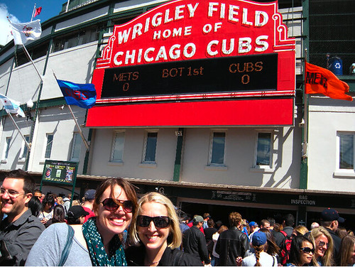 Me and KW at Wrigley