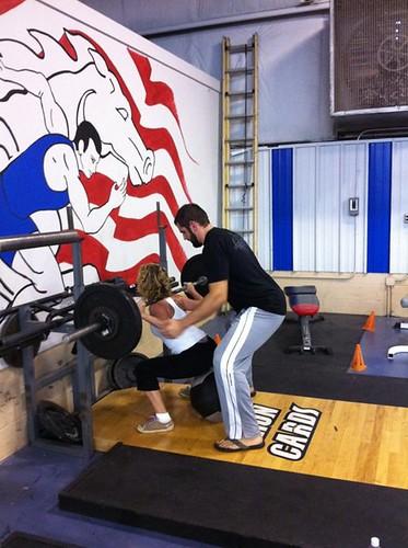 Bodyweight squat!