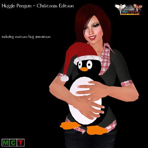 Huggle Penguin - Christmas Edition