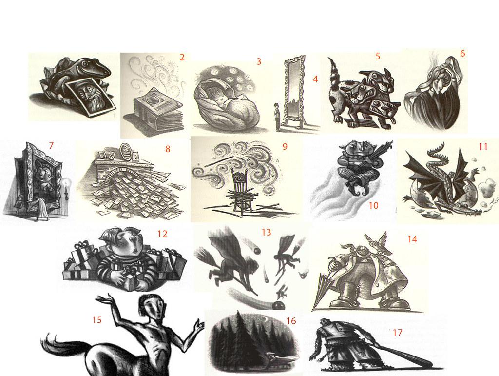 Sorcerer S Stone Chapter Illustrations Quiz
