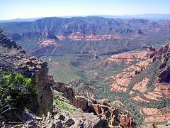 Oak Creek Canyon from Wilson Mountain Sedona O...