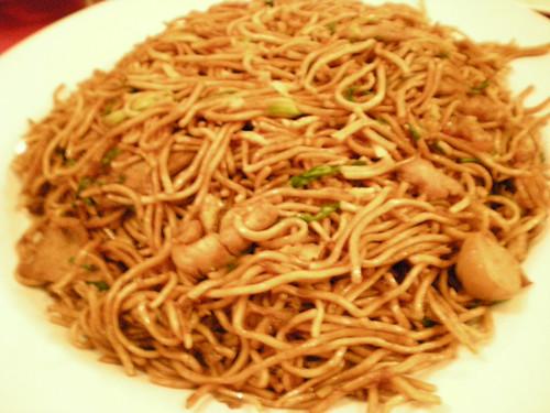 Sibu fried noodles, dry