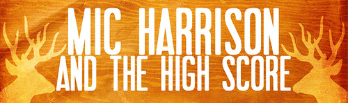 Mic Harrison website banner