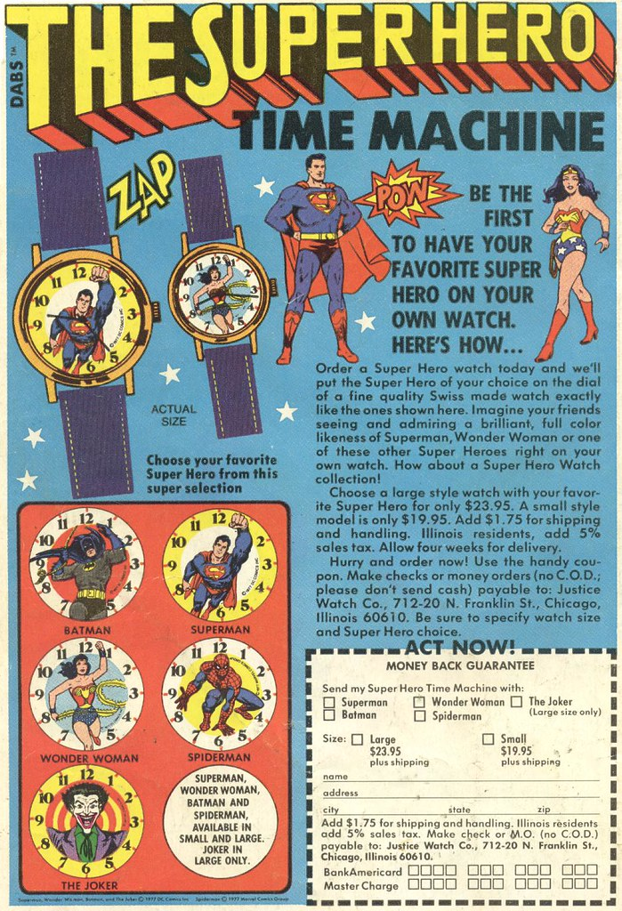 Super Hero Time Machine