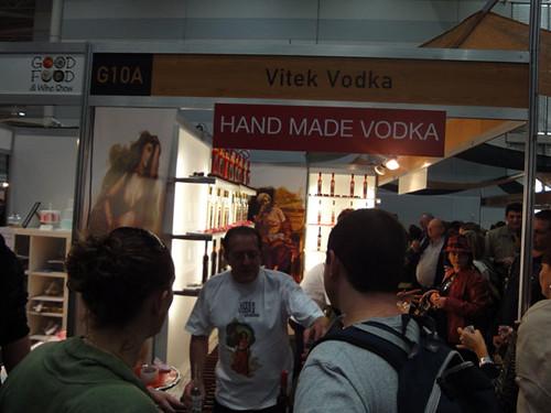 Hand made vodka
