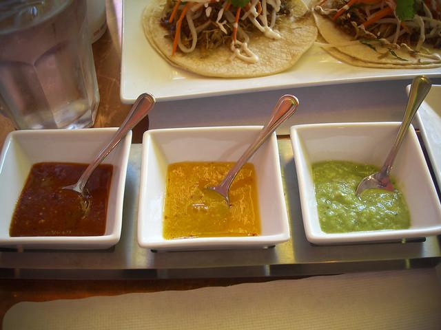 trio of salsas, Papito, Potrero Hill, SF