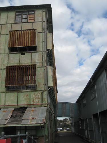 Factory buildings on Cockatoo Island