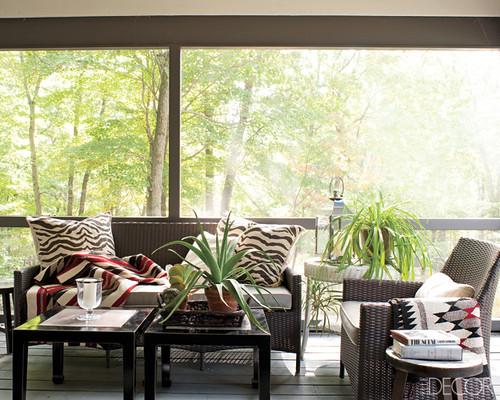 Jesse Carrier Fielden house screen porch