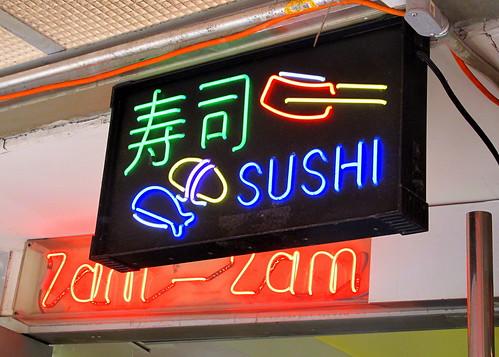 Sushi neon