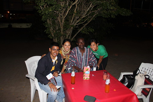 With Rebecca, Suraj and Rev Solomon!