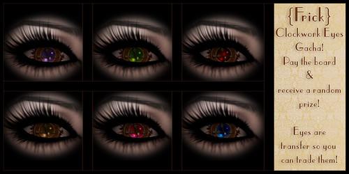 Frick - Clockwork Eyes Gacha