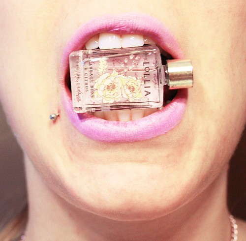 in my mouth: perfume