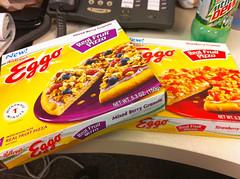 Eggo Real Fruit Pizzas