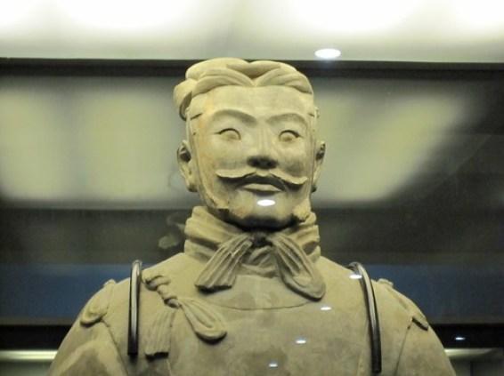 Terricotta Warrior Closeup