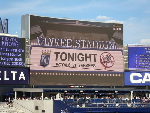 Yankees vs KC Royals