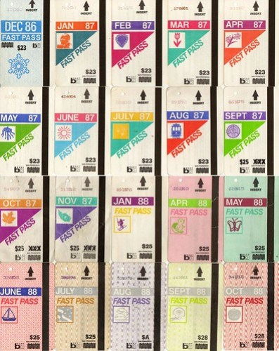 20 Fast Passes from 1987 and 1988