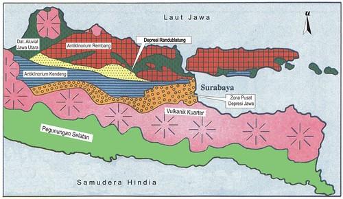 peta fisiografis jawa timur gayuh.putranto.net