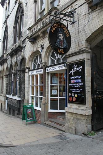 The Artful Dodger pub, York
