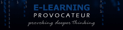E-Learning Provocateur blog banner