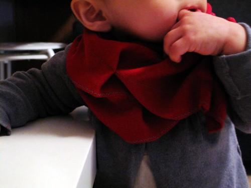 La bufanda roja