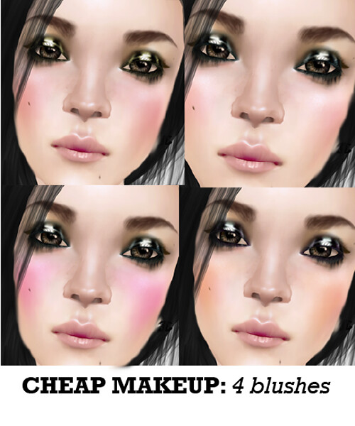 cheap makeup for one eleven <3