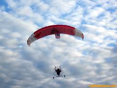 para-motor glider