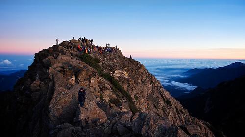 Sunrise on Jade Mountain