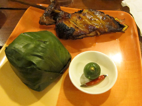 Chicken Inasal at Chic-Boy