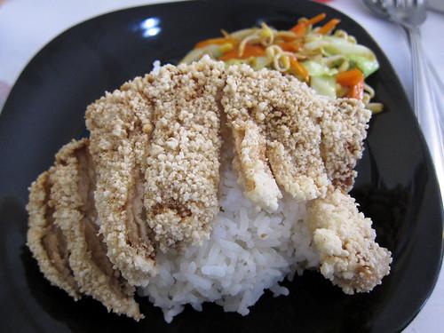 Pork Chop Rice Topping at Yen Yen Taiwanese Street Food