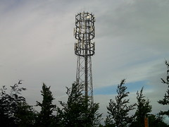 epsom racecourse mobile phone mast