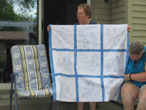 Mom's Baby Mother Goose Quilt