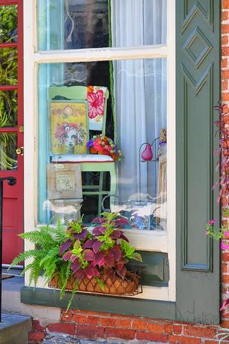 Boutique window, Litiz, PA