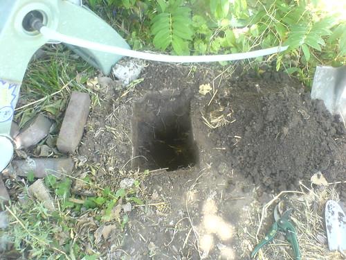 Step 1: Dig a Hole