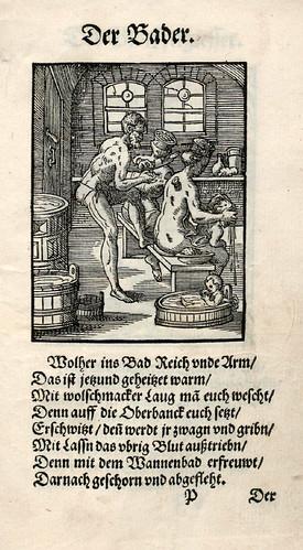032-El cirujano barbero-sangrador-Ständebuch 1568-Jost Amman-Hans Sachs