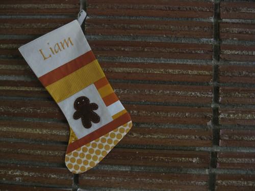 Liam's stocking