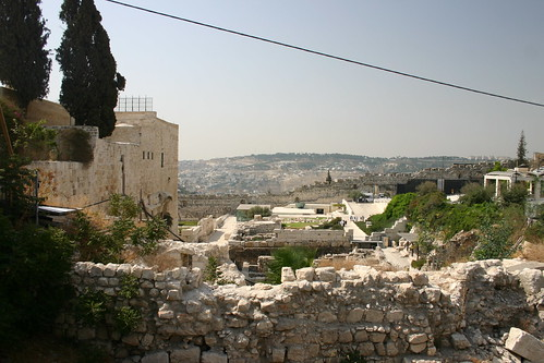 South from the Kotel