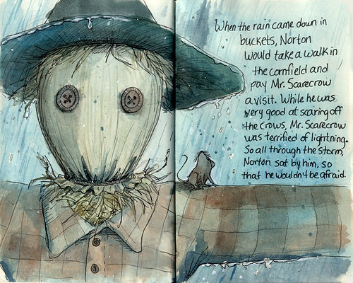 Illustration Friday: Artificial