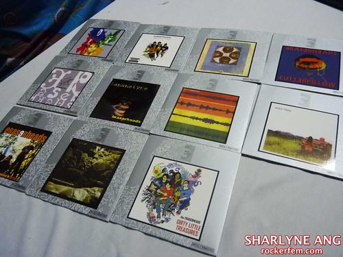 Eraserheads CDs in the Heads Set