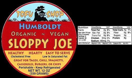 Humboldt Sloppy Joe