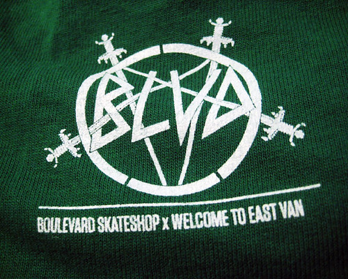 boulevard skateshop x welcome to eastvan