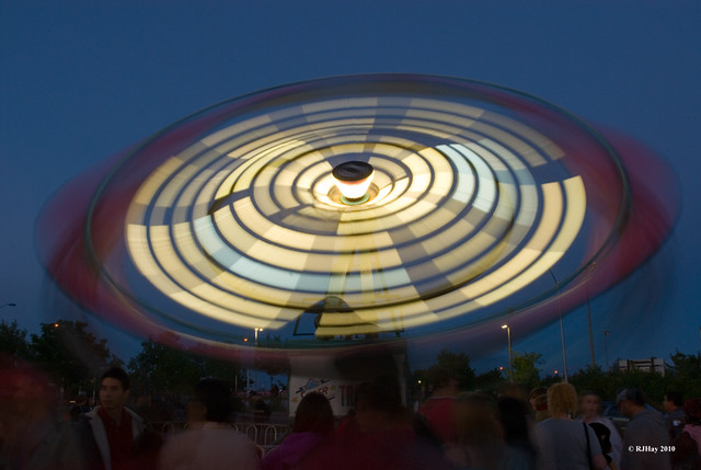 Flying Saucer Landing In Kanata on Canada Day 2010