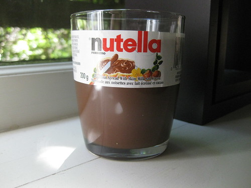 Nutella Glass