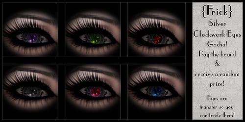 Frick - Silver Clockwork Eyes Gacha