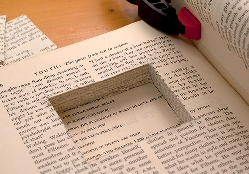 Altered book - movable parts book