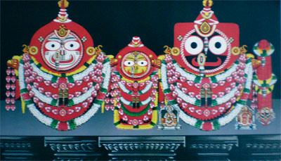 Abakasha Besha, Costume Of Lord Jagannath